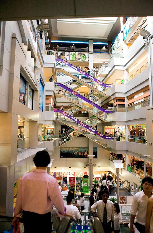 MBK er et stort kjøpesenter i Bangkok.