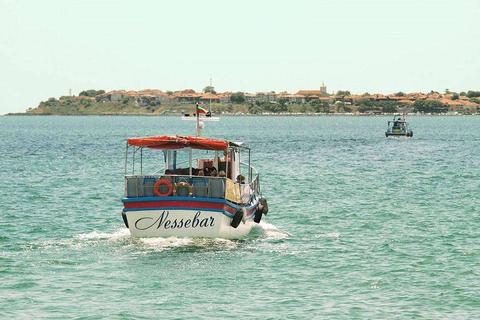 Båttur mellom Sunny Beach og Nessebar