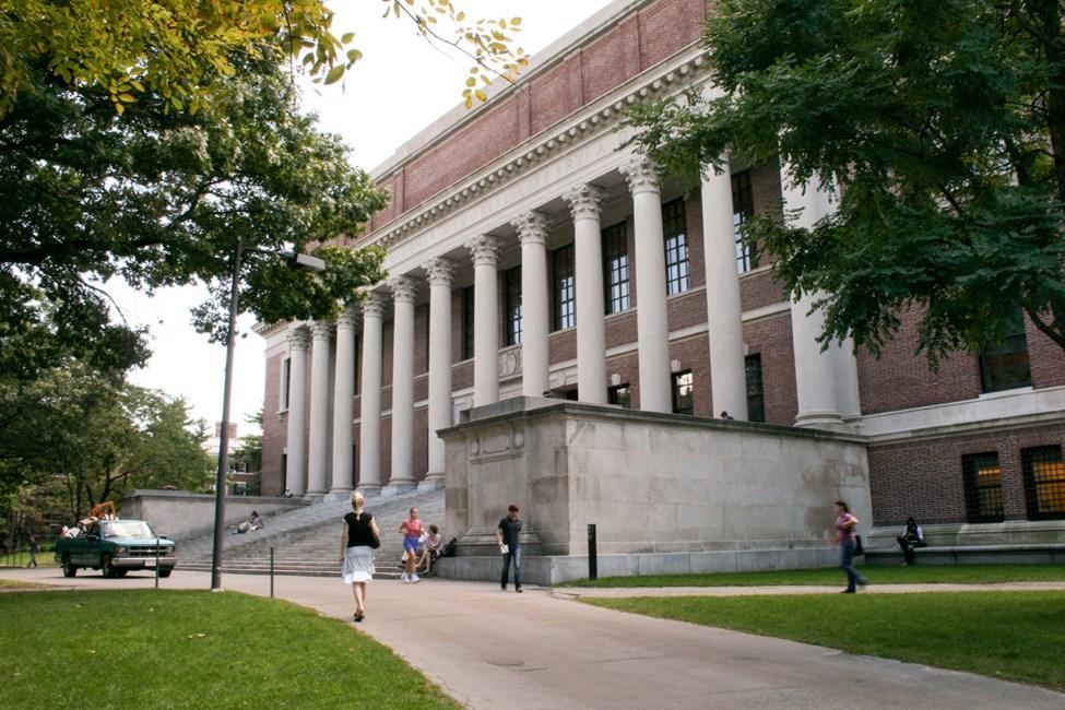 Biblioteket til Harvard University
