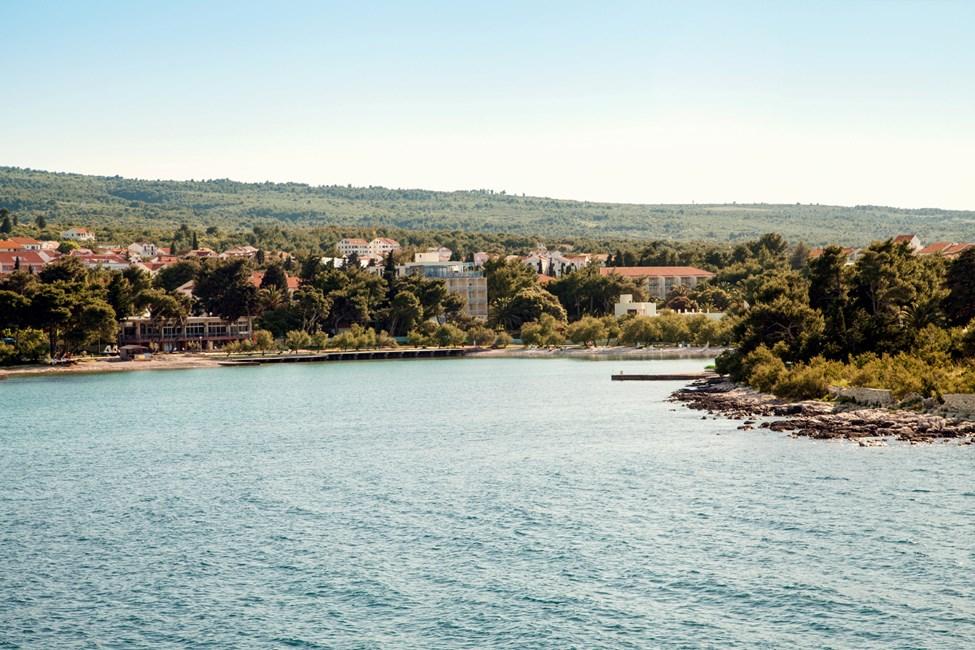 Utsikt mot Waterman Supetrus Resort