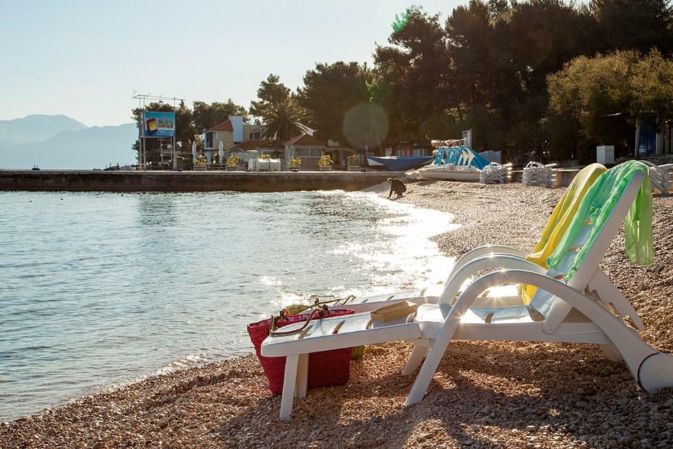 Strand i nærheten av Waterman Supetrus Resort