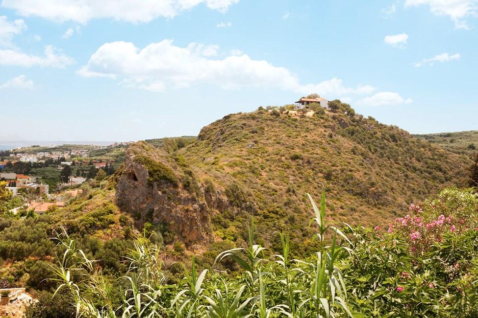 Utsikt fra Øvre Platanias