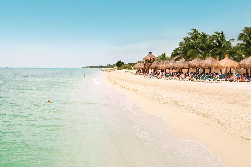 Stranden nedenfor Occidental Grand Cozumel