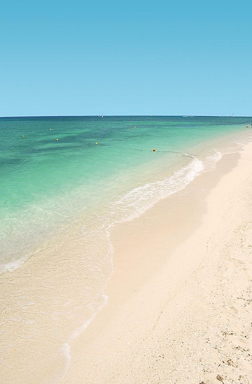 Stranden ved Occidental Grand Cozumel