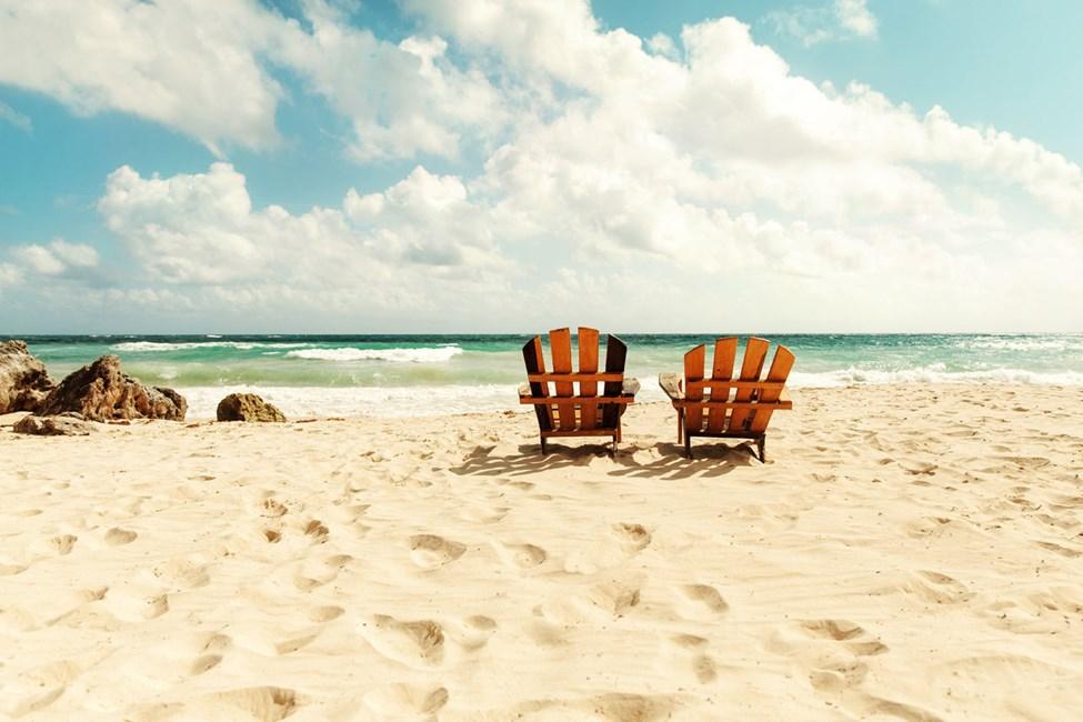 Tulum byr på avslappet strandliv med sand mellom tærne