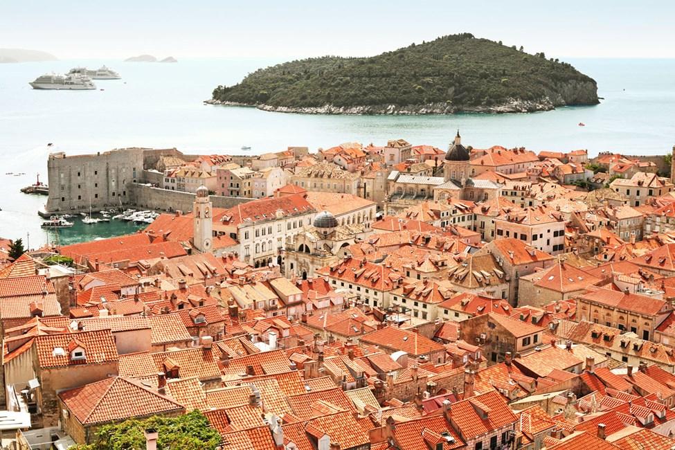 Gamlebyen i Dubrovnik