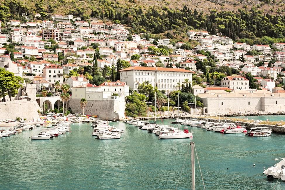 Havnen i Dubrovnik