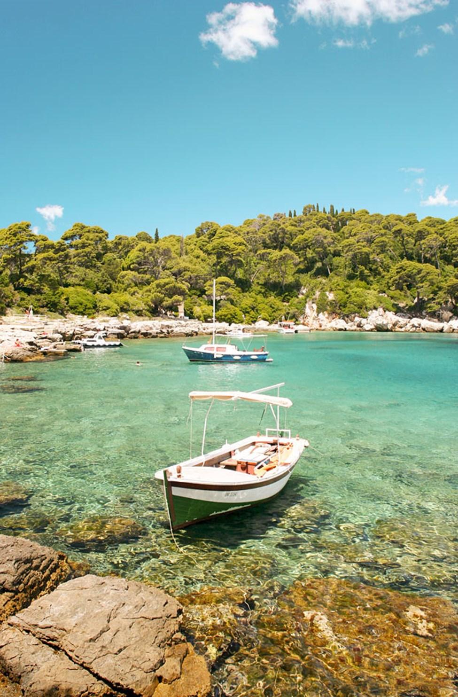 Båttur til øya Lokrum utenfor Dubrovnik