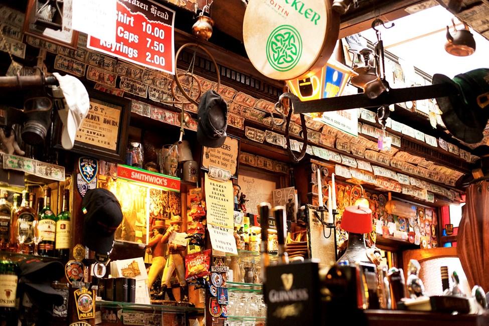 The Brazen Head – Irlands eldste pub fra 1198