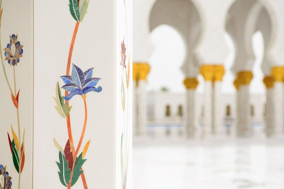 Grand Mosque i Abu Dhabi