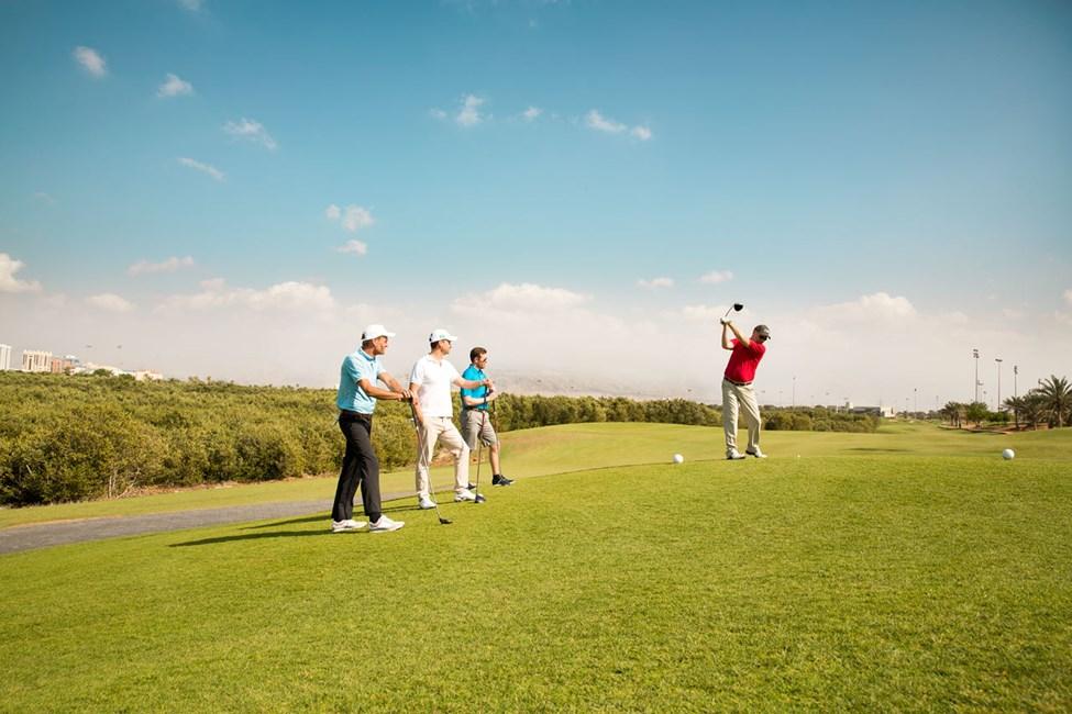 Ras Al Khaimah har flere golfbaner, blant annet populære Tower Links