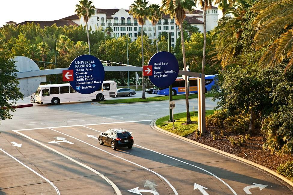 Universal Boulevard, Universal Studios