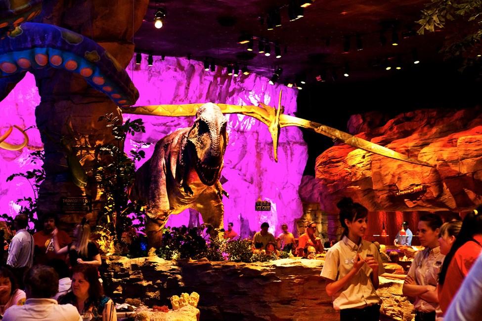 T-Rex Cafe, Downtown Disney, Orlando