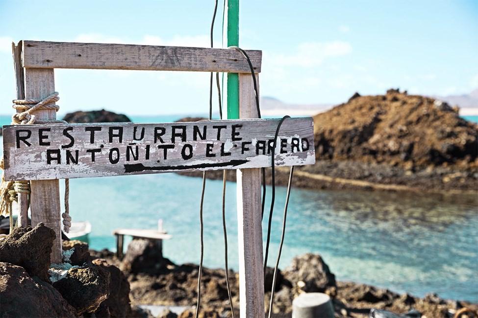 Isla de Lobos, rett utenfor Corralejo