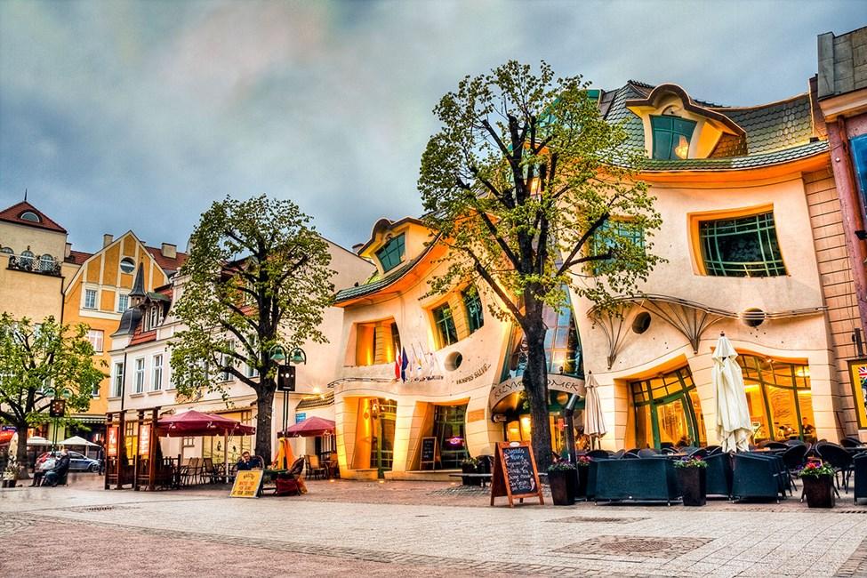 Det skjeve huset Krzywy Domek i Sopot