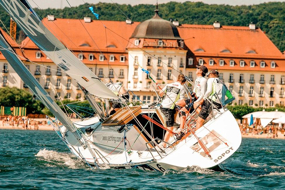 Seiling i Sopot