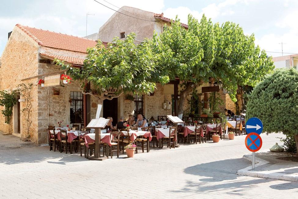 Gamlebyen i Hersonissos