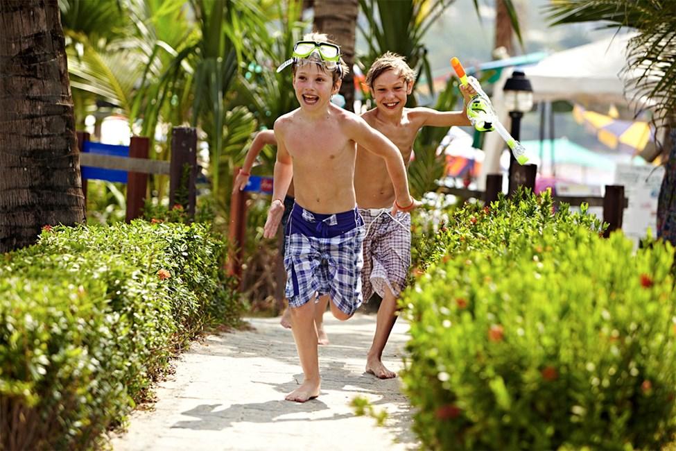 Sunwing Kamala Beach er et paradis for barnefamilier.