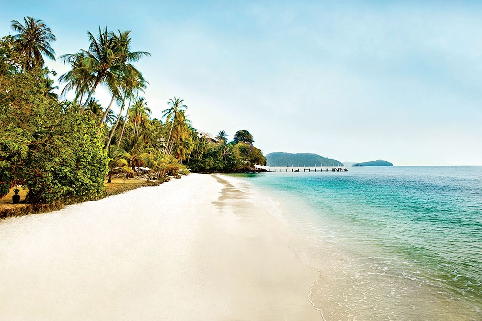 Stranden ved Cape Panwa Hotel