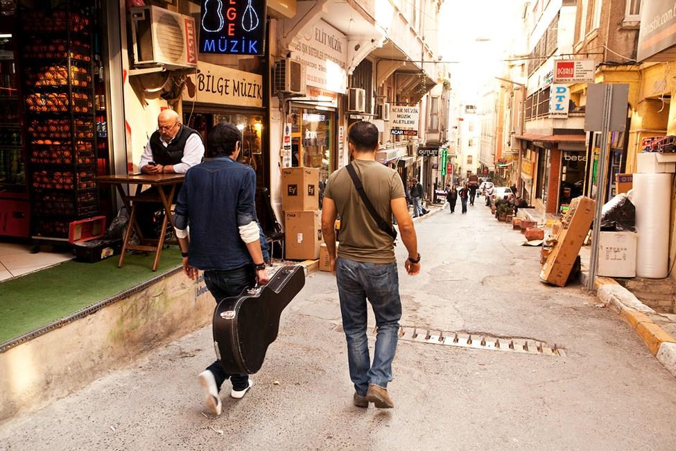 """Musikergaten"" Sahkulu Street, Beyoglu"