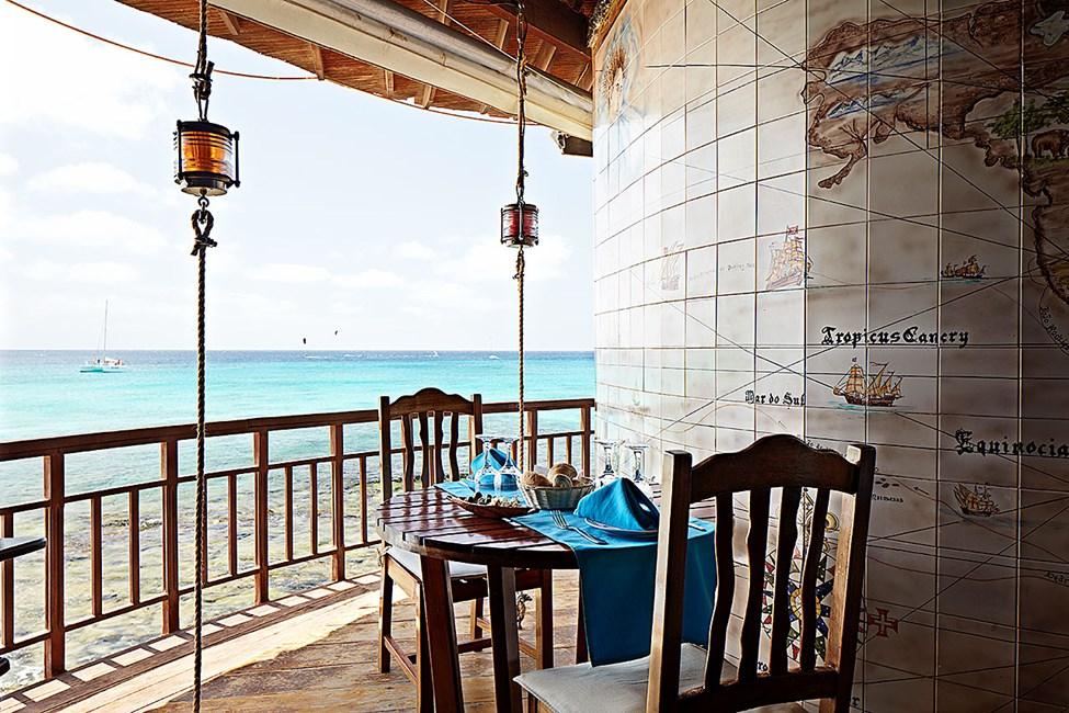 Restauranten Farolin på hotell Odjo d'Agua