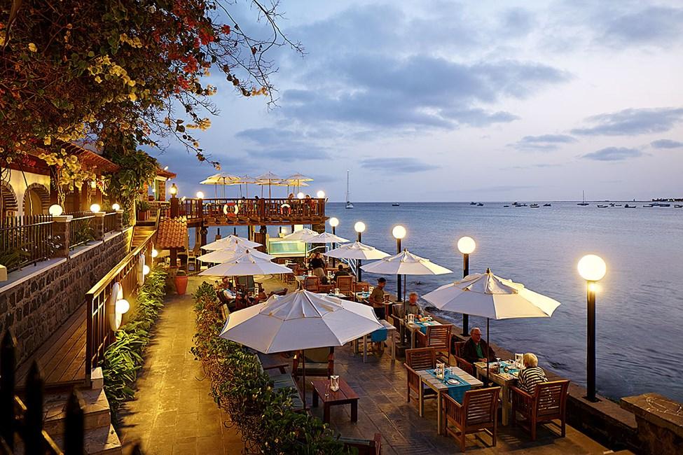 Restaurant Farolin på hotell Odjo d'Agua