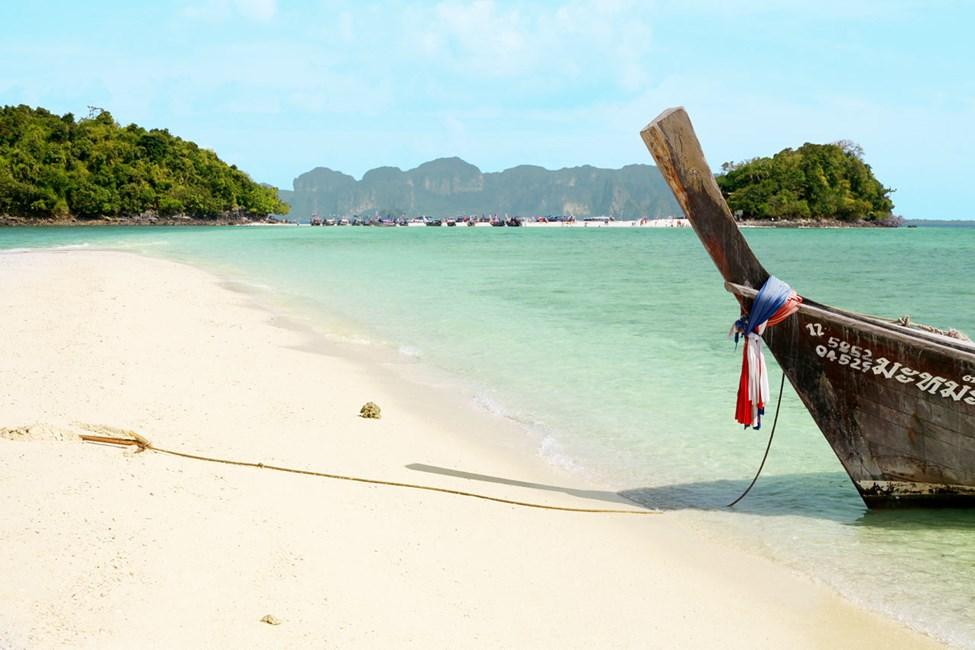 Dra til Chicken Island og Tup Island fra Klong Muang