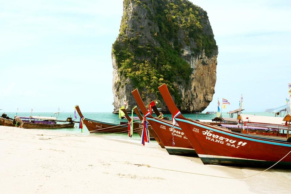 Hva med en båtutflukt til fantastiske Poda Island?