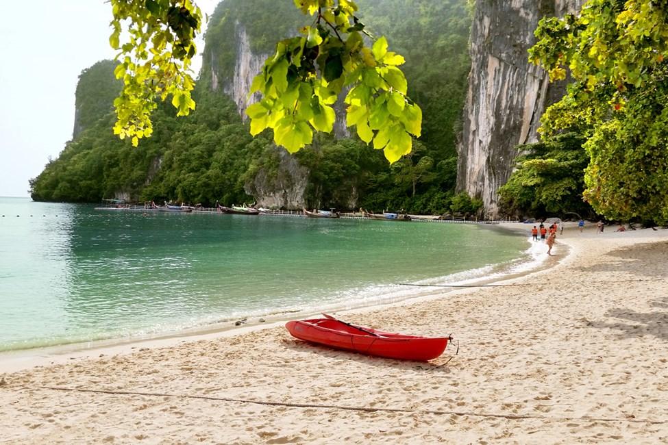 Stranden på Koh Hong