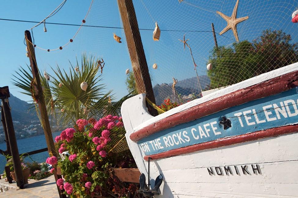 Telendos, The Rocks Café