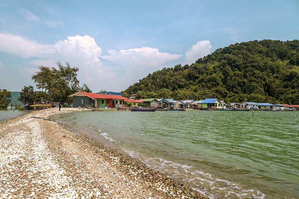 Fine omgivelser i Seberang Perai