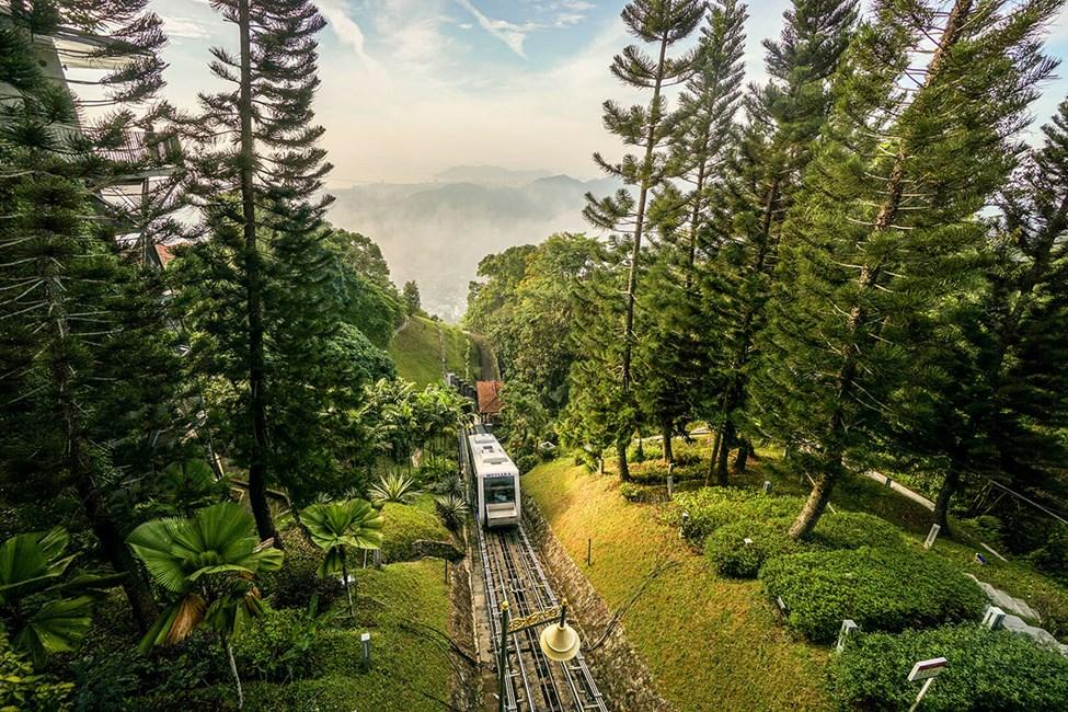 Utsiktspunktet Penang Hill