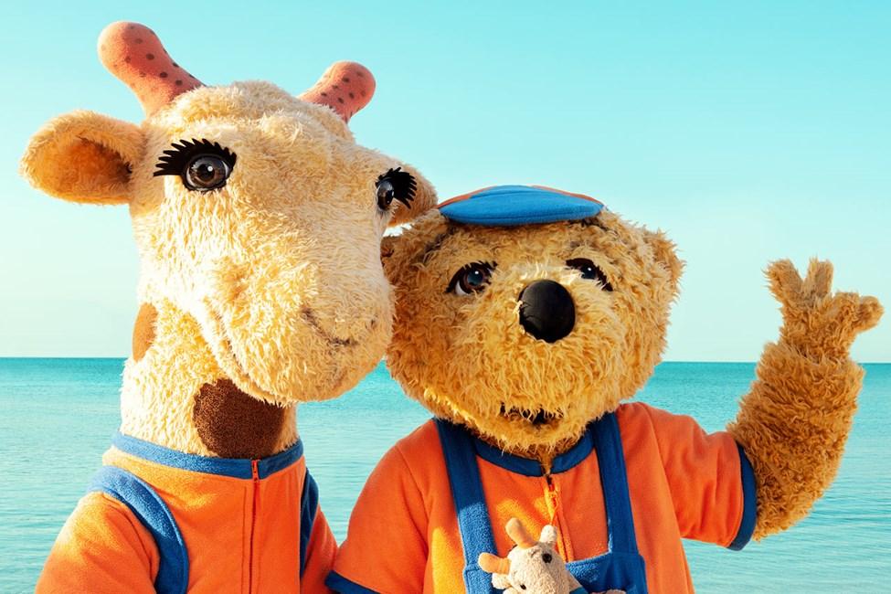 På Sunwing Arguineguín Seafront kan du treffe Lollo & Bernie.