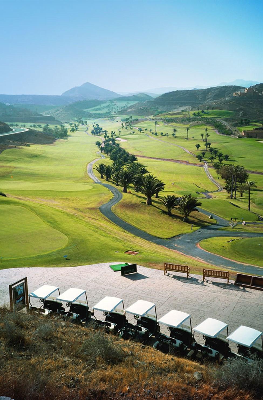 Golfbanen i Anfi, ca. 10 - 15 minutters biltur fra Sunwing Arguineguín.