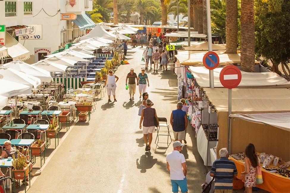 Hver tirsdag er det marked i Arguineguín.