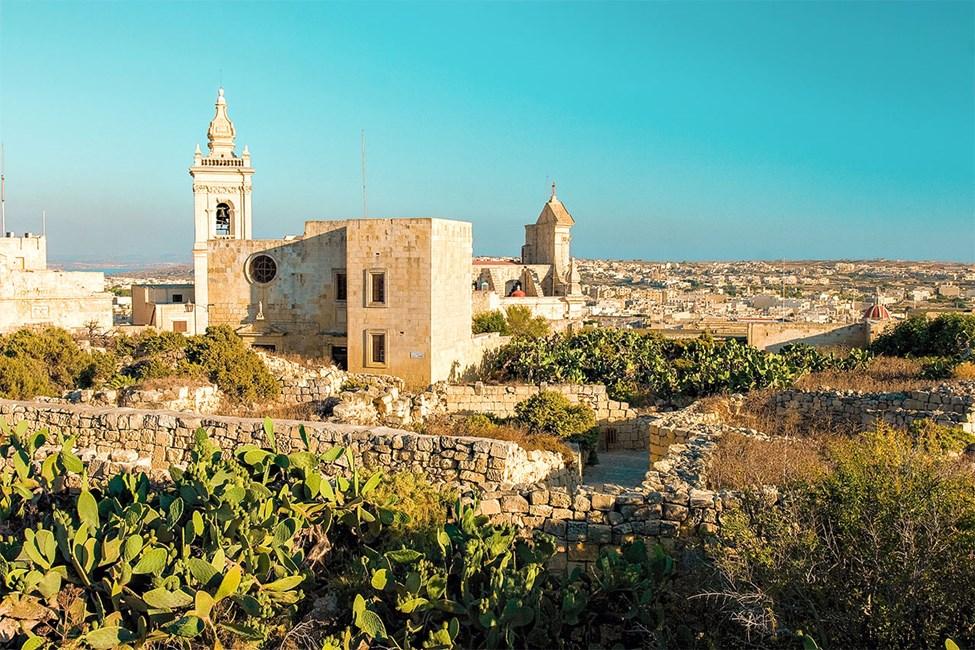Gharb, en av Gozos eldste landsbyer