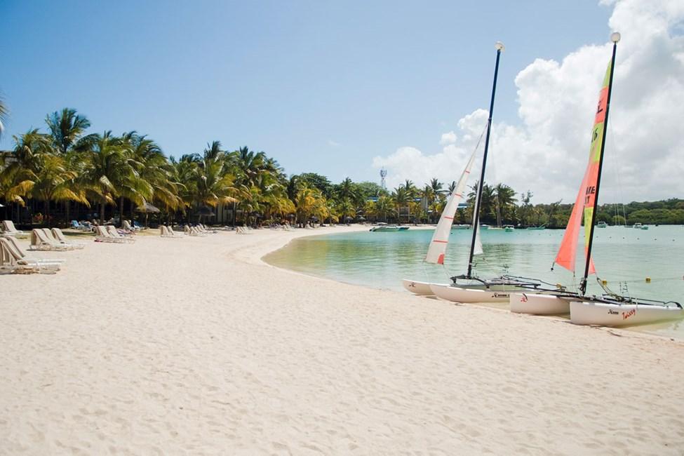 Stranden ved Shandrani Resort & Spa