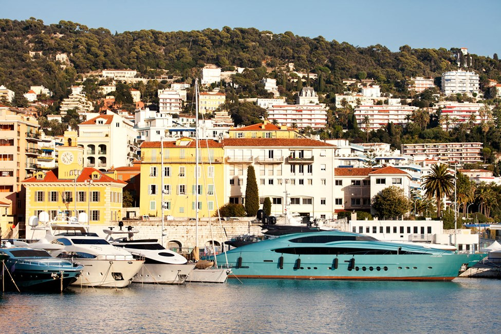 Den gamle havnen i Nice