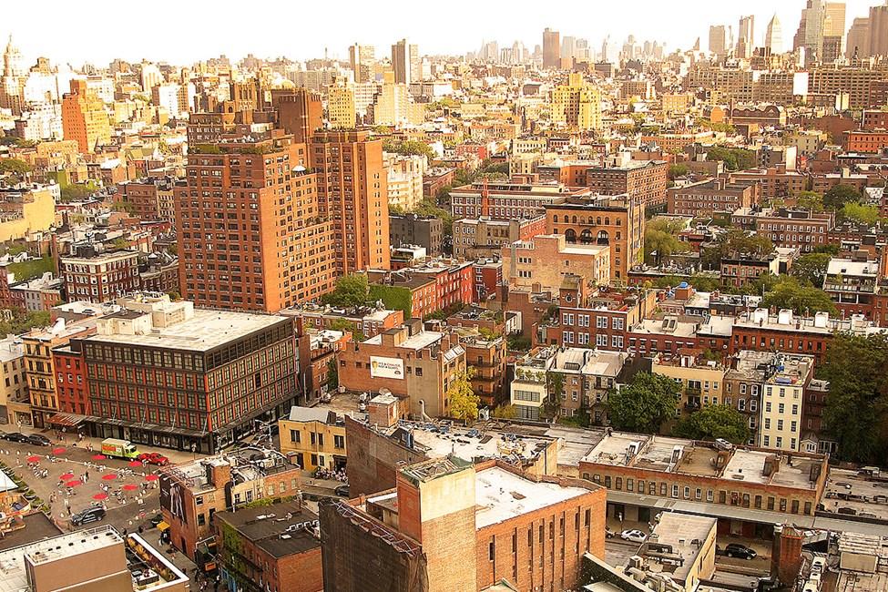 New Yorks lekre omgivelser