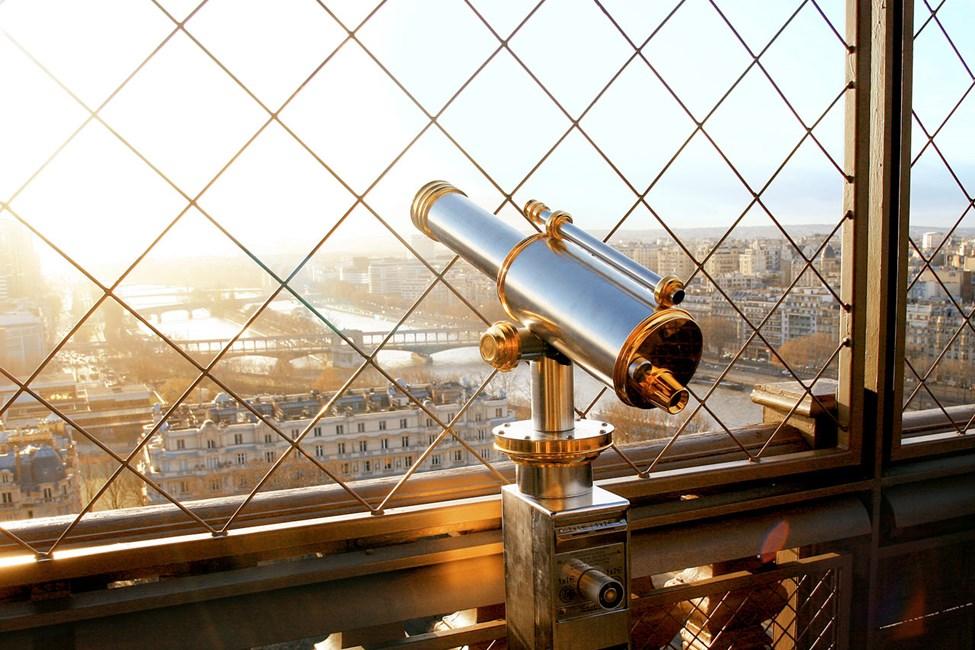 Utsikt fra Eiffeltårnet