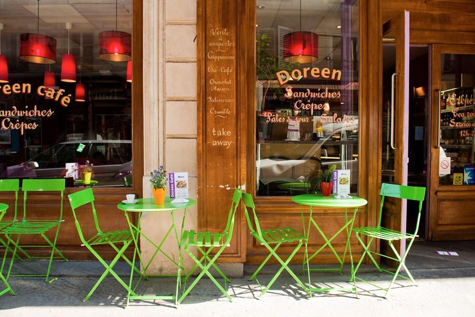 Café Doreen, Rue de Caumartin