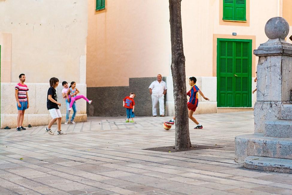 Gamlebyen i Alcudia