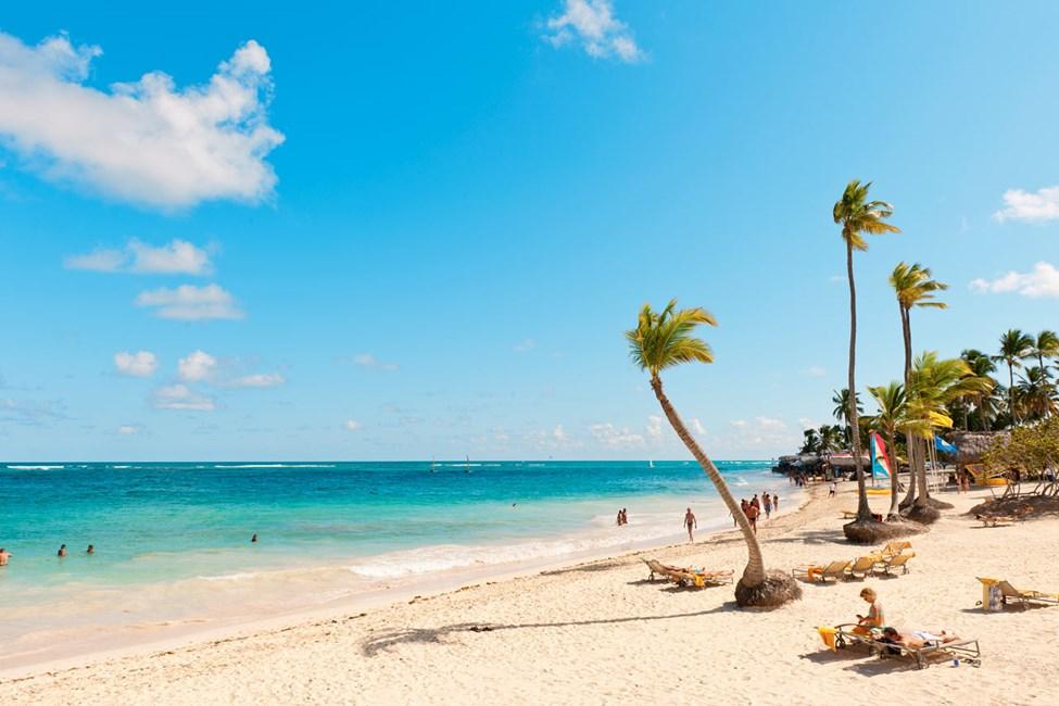 Stranden ved Grand Bahia Principe