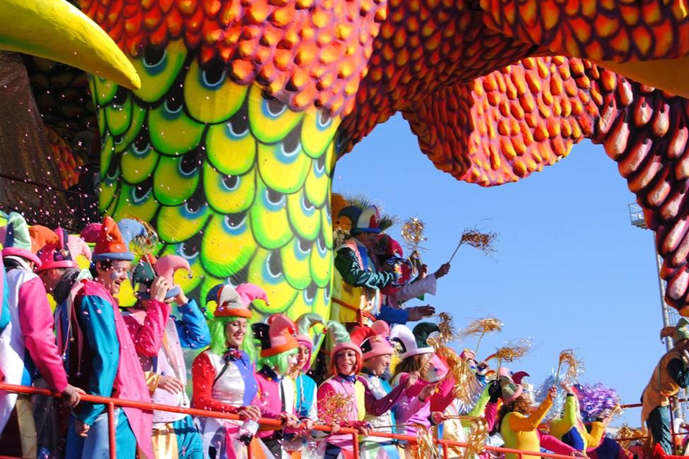 Det berømte karnevalet går av stabelen i februar hvert år