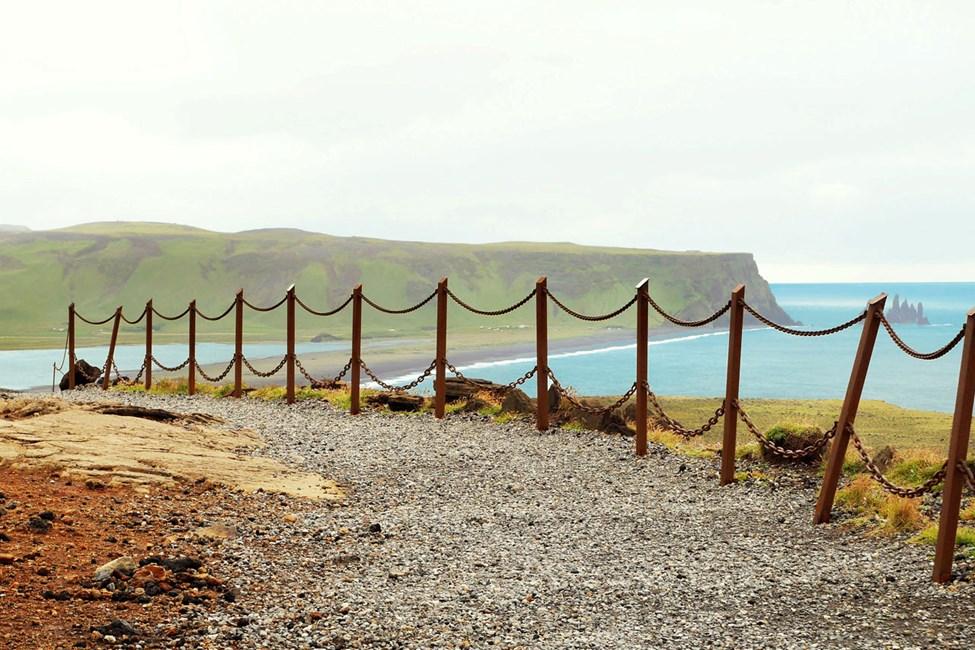 Gangvei på Dyrhólaey