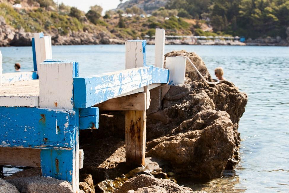 Ladiko Bay, sør for Faliraki