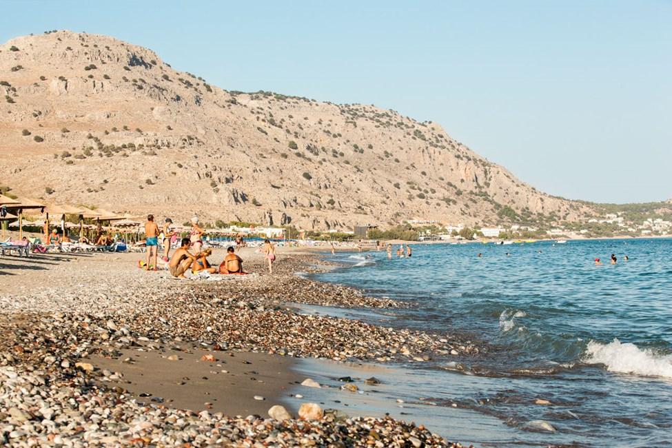 Stranden i Lardos