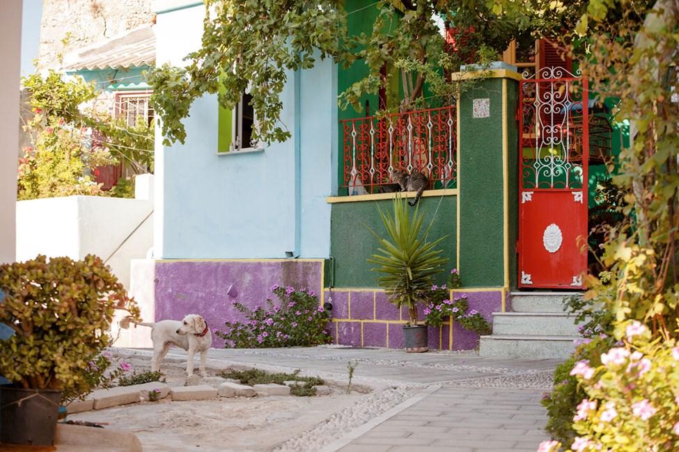 Koskinou er en liten by nær Kallithea
