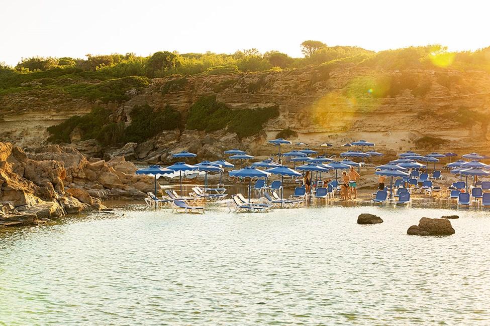 Tassos Beach, ca 4,5 km fra Kallithea