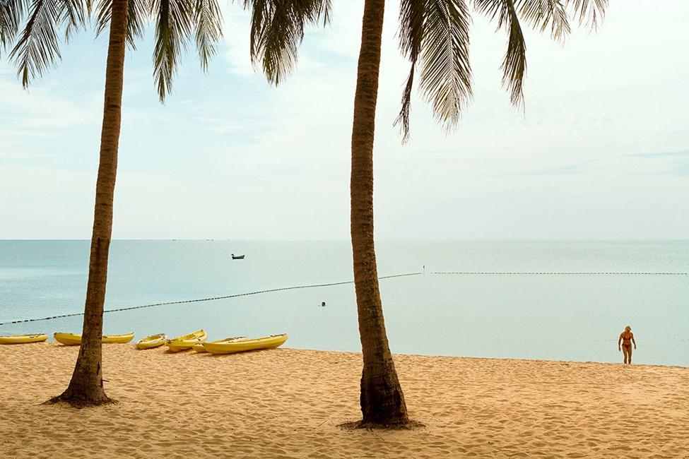 Stranden ved Vings hotell The Shells Resort & Spa
